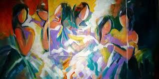Abstract Art By Indian Artist Ella Prakash