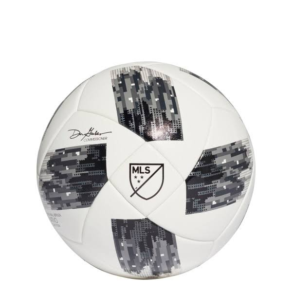 Adidas 2018 MLS Competition NFHS Soccer Ball White-Black - 5