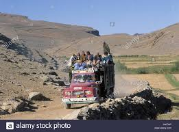 100 Atlas Lift Truck Morocco High Atlas Truck Roof People Africa Mountain Landscape
