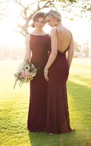 Sorella Vita Burgundy Bridesmaid Dresses Fall Autumn Rustic Glamour