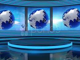 Virtual Set Studio Tv News Background For Green Screen Footage 11428328