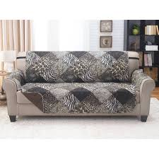 100 Sofa N More Reversible Furniture Protector Safari Multicolor