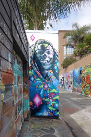 Clarion Alley Mural Project Address by Whole 9 Street Art Sf