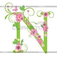 floral alphabet black Google Search fonts