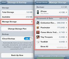 View & Delete iCloud Documents from the iPhone & iPad