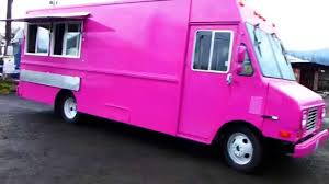 Pink Food Truck Custom Built Catering Kitchen - YouTube