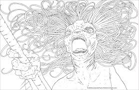 Harry Potter Creatures Coloring Pages