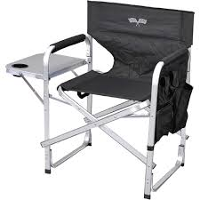 Ming's Mark Stylish Camping Green Full Back Folding Director's Chair