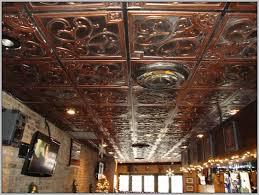 2x2 Drop Ceiling Tiles Home Depot by Faux Copper Ceiling Tile Home Depot Tiles Home Decorating