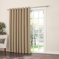 Curtain Rod Brackets Kohls by Zero Gramercy Room Darkening Patio Door Window Panel 100 U0027 U0027 X 84 U0027 U0027