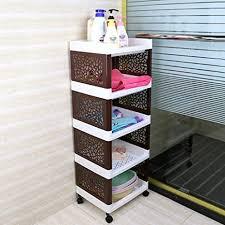 beistellwagen raum aluminium badezimmer regal küche