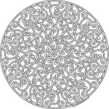 Mandala Coloring Pages Luxury For Adults Free