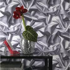 papier peint chambre adulte leroy merlin papier peint trompe l oeil tissu froissé gris