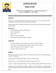 Teacher Resume Format In Word India