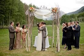 Rustic Wedding Arches Ideas