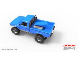100 Rc Pickup Truck Cross RC SP4B 110 Demon 4x4 Crawler KitFull Hard Body Steel Rims