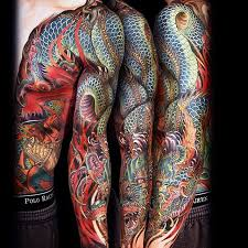 Amazingly Beautiful And Detailed Full Sleeve Tattoos By Jess Yen