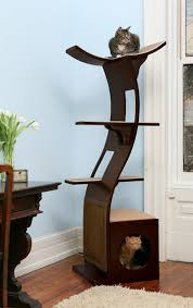 modern cat tower cat tower modern cat furniture trees and cat litter box