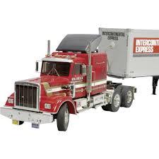 100 Rc Semi Trucks And Trailers Tamiya King Hauler Instructionshomemade Engine