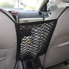 100 Car Seat In Truck Nylon Storage Luggage Hooks Hanging Organizer Holder Bag Net Mesh