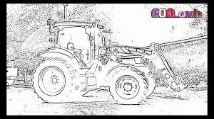 Coloriage Tracteur 68 JeColoriecom