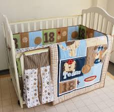 Nursery Crib Bedding Sets U003e by Baseball Crib Bedding Image Is Loading Red And Navy Baseball