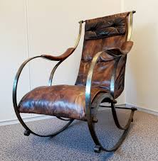 Early 20th Century Rocking Chair By R.W. Winfield | #80967