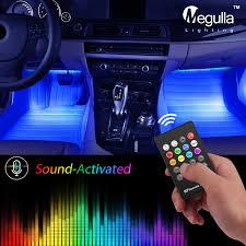 100 Led Interior Lights For Trucks Amazoncom Megulla Underdash Lighting Kit USBPowered RGB Multi