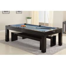 The Phoenix Solid Wood 7ft Slate Bed Pool Dining Table SALE