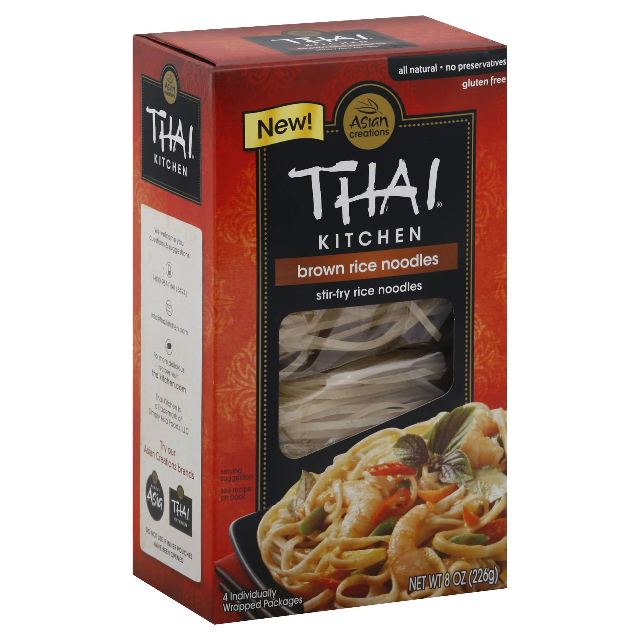 Thai Kitchen Brown Rice Noodles - 8oz