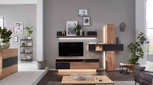 interliving wohnzimmer serie 2005 wohnwand mit beleuchtung