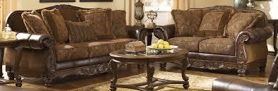 Claremore Antique Sofa And Loveseat by Remarkable Fresco Durablend Antique Sofa And Loveseat Also