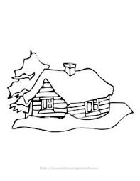 Cabin Coloring Pages 92