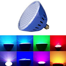 laous color changing swimming pool lights led