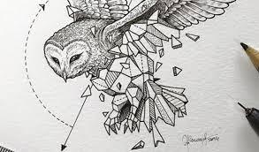 Artist Creates Extraordinary Geometric Animal Illustrations