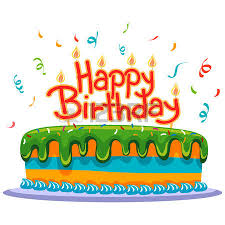 Birthday Cake With Confetti Royalty Free Cliparts Vectors And Stock Illustration Image