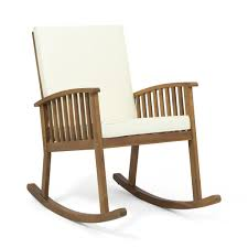 Beulah Outdoor Acacia Wood Rocking Chair Hampton Bay Natural Wood Rocking Chair Noble House Travis Stained Outdoor With Cream Cushion Habe Glider Stool Oak Beige Washable Covers Brake Selma Teak Finish Vintage Wooden From Finlad 1960s Giantex Chairs For Porch Patio Living Room Rocker Adults Walnut Rockers Mission Style Leather Match Seat And Back By Coaster At Dunk Bright Fniture History Designs Homesfeed Co Verona The Warehouse Antique Wooden Rocking Chair Isolated On White Background Solid Pine