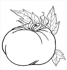 Pumpkin Patch Coloring Pages Free Printable by 9 Pumpkin Coloring Pages Jpg Ai Illustrator Download Free