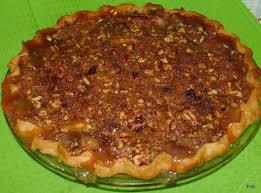 Pumpkin Pie With Pecan Praline Topping by Pecan Praline Peach Pie Recipe Just A Pinch Recipes