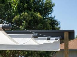 How To Build An Outdoor Canopy | HGTV Awning Place Diy Canvas Deck Awnings Home Simple Retractable Northwest Shade Co Choosing A Covering All The Options Pergola Design Ideas Roof Systems Unique How To Build An Outdoor Canopy Hgtv Kit Cooler Stand On Patio An Error Occurred Kits Sunsetter Install Led Lights Little Egg Harbor Shutter Inc Weather Protection Living Selector