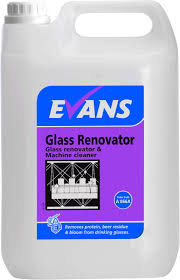 100 Evans Glass Cleaner TTB Supplies Vanodine GLASS RENOVATOR Concentrated