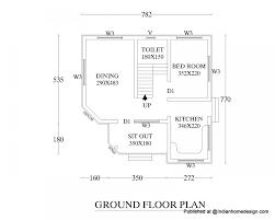 Indian Simple 3 Bedroom House Plans Modern
