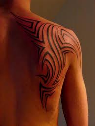 Pics For Shoulder Blade Tattoo Men