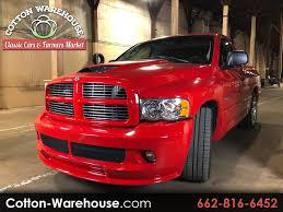 100 Dodge Srt 10 Truck For Sale Used 2004 Ram 1500 SRT 2WD For In Batesville