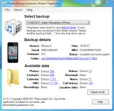iPhone Backup Location See what are all files extensions
