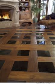 tile floor living room