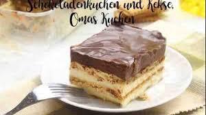 schokoladenkuchen und kekse omas kuchen rezepte für thermomix