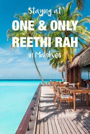100 One And Only Reethi Rah Maldives Miles Smiles Away