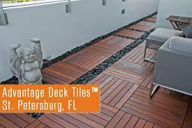 advantage ipe deck tiles st petersburg fl rooftop