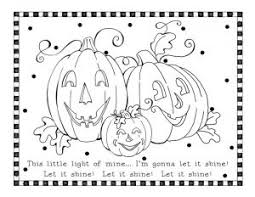 Cute Scarecrow Halloween Coloring Pages For Kids Printables